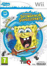 SpongeBob SquigglePants Wii cover (SS8P78)
