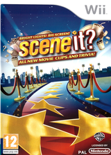 Scene It? Bright Lights! Big Screen! Wii cover (SSCPWR)