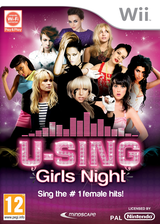 U-Sing Girls Night Wii cover (SUSPMR)