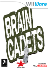 Brain Cadets WiiWare cover (W2TP)