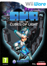 Aya and the Cubes of Light WiiWare cover (WAAP)