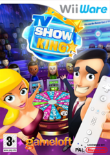 TV Show King WiiWare cover (WB6P)
