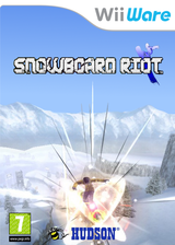 Snowboard Riot WiiWare cover (WBBP)