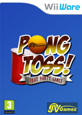 Beer Pong: Frat Party Games WiiWare cover (WBEP)