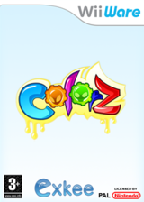 ColorZ WiiWare cover (WCZP)
