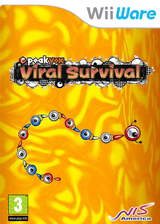 Viral Survival WiiWare cover (WEVP)