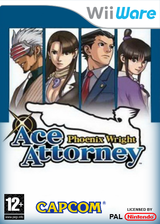 Phoenix Wright: Ace Attorney WiiWare cover (WGSP)