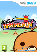 Happy Hammerin' WiiWare cover (WM9P)
