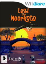 Lead the Meerkats WiiWare cover (WMKP)