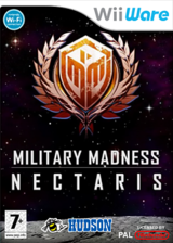 Military Madness: Nectaris WiiWare cover (WN9P)