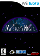 My Starry Night WiiWare cover (WP7P)