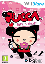 Pucca's Kisses Game WiiWare cover (WPJP)