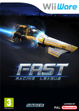 FAST Racing League WiiWare cover (WRLP)
