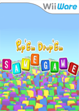 Pop Them, Drop Them SAMEGAME WiiWare cover (WSGP)