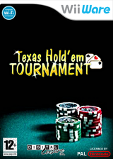 Texas Hold'em Tournament WiiWare cover (WTXP)