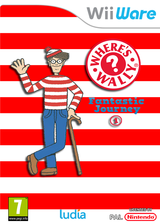 Where's Wally? Fantastic Journey 1 WiiWare cover (WWIP)