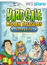 Yard Sale Hidden Treasures Sunnyville WiiWare cover (WYSP)