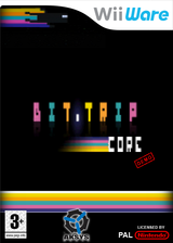 BIT.TRIP CORE (Demo) WiiWare cover (XHVP)