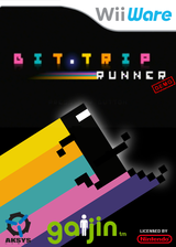 BIT.TRIP RUNNER (Demo) WiiWare cover (XHXP)