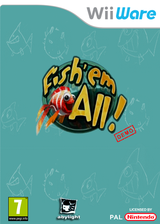 Fish em All Demo WiiWare cover (XIBP)
