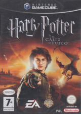Harry Potter y el Cáliz de Fuego GameCube cover (GH4S69)