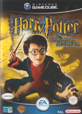 Harry Potter y la Cámara Secreta GameCube cover (GHSX69)