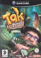 Tak and the Power of JuJu GameCube cover (GJUP78)