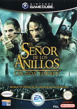 El Señor de los Anillos: Las Dos Torres GameCube cover (GLOS69)