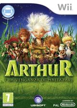Arthur y la Venganza de Maltazard Wii cover (R8RP41)
