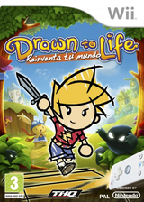 Drawn to Life: Reinventa tu Mundo Wii cover (R9DP78)