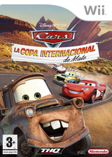 Cars: La Copa Internacional de Mate Wii cover (RC2X78)