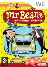 Mr. Bean en el Estrambótico Mundo de Wii Wii cover (REBPMT)
