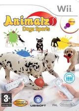 Animalz Sports: Dogz Wii cover (RG8P41)