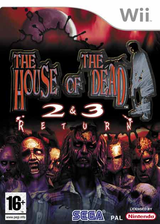 The House of the Dead 2 & 3 Return Wii cover (RHDP8P)