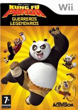 Kung Fu Panda: Guerreros Legendarios Wii cover (RKHP52)