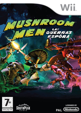 Mushroom Men: Las Guerras Espora Wii cover (RM9PGM)