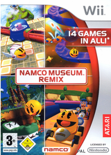 Namco Museum Remix Wii cover (RN2P70)