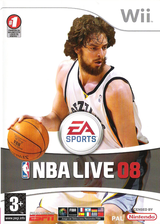 NBA Live 08 Wii cover (RNBX69)