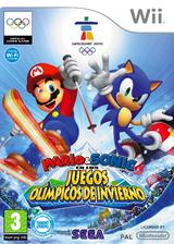 Mario & Sonic en los Juegos Olímpicos de Invierno Wii cover (ROLP8P)