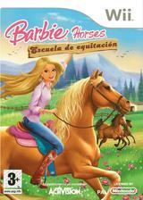 Barbie Horses: Escuela de Equitación Wii cover (RRCP52)