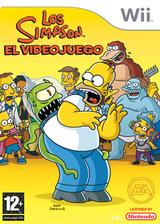 Los Simpson: El Videojuego Wii cover (RSNX69)