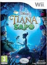 Tiana y el Sapo Wii cover (RU5X4Q)
