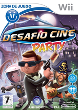 Desafío Cine Party Wii cover (RVQP41)