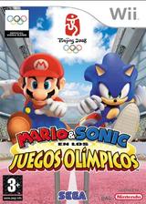 Mario & Sonic en los Juegos Olímpicos Wii cover (RWSP8P)