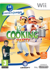 Cooking Party Wii cover (RZLP41)