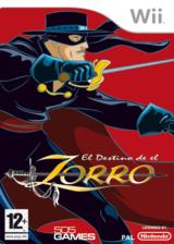 El Destino de El Zorro Wii cover (RZRPGT)