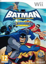 Batman: El Intrépido Batman Wii cover (S3BPWR)
