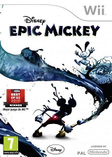 Disney Epic Mickey Wii cover (SEMP4Q)