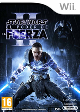 Star Wars: El Poder de la Fuerza II Wii cover (SF2P64)