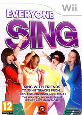 Everyone Sing Wii cover (SL6PGN)